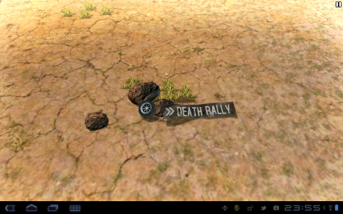 Death Rally accueil