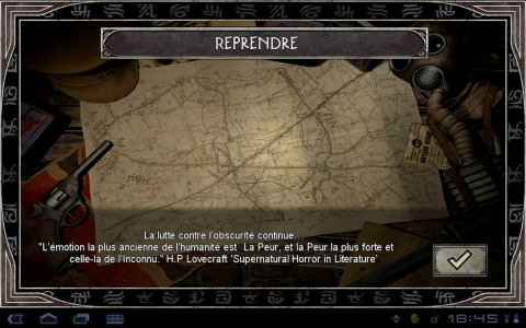 call of cthulhu reprendre