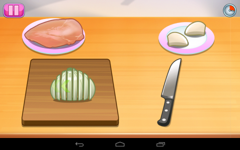 Ecole de cuisine de sara tablette android 83 100 test for Un jeu de cuisine