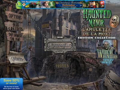 Haunted Manor L'Amulette de la Mort 2