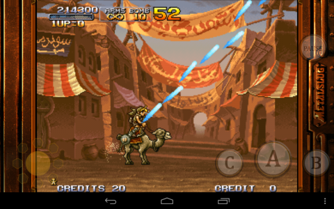 Metal Slug 2 camel