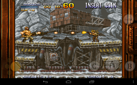 Metal Slug 2 ice