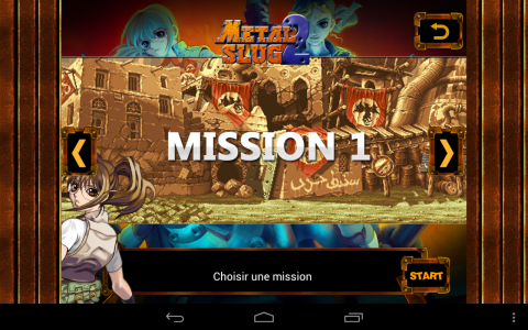 Metal Slug 2 mission