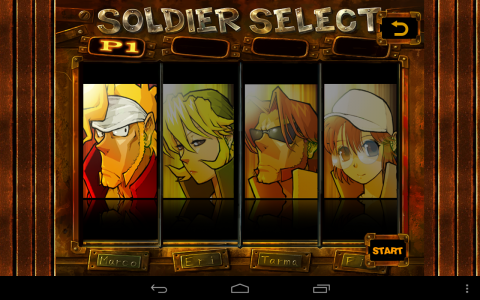 Metal Slug 2 persos