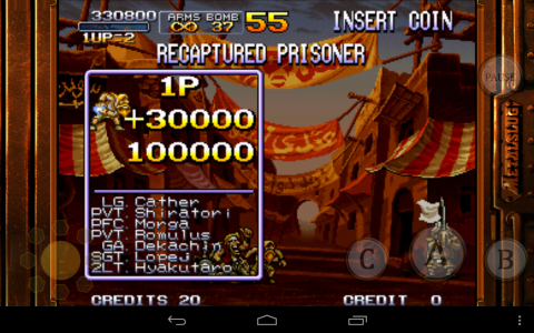 Metal Slug 2 result