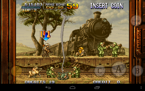 Metal Slug 2 train